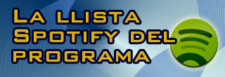La llista spotify del programa