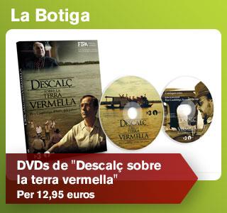 El DVD de Descal� sobre la terra vermella