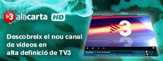 Descobreix el nou canal de v�deos en alta definici� de TV3